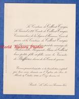 Faire Part De 1922 - PIOULE / LE LUC En PROVENCE - Marguerite Marie De COLBERT Et Le Vicomte De BUFFIERES - Wedding
