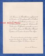 Faire Part De 1911 - PARIS / Rue De Varennes - Melle Guillemette De COLBERT Avec Le Comte François De BOURBON BUSSET - Wedding