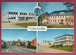 57. Folschviller.  Vues Multiples Et Blason. 1987 - France
