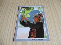 North Thailand - The Old E-Kaw Thai Hilltribe Woman With Gourd. - Thailand