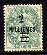 ALEXANDRIE  - 65A** - TYPE BLANC - Alexandria (1899-1931)