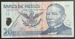 RS - Mexico 20 Pesos Banknote 2001 #SERIE J S0563164 - Mexiko