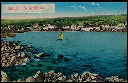 MESSINA - SALUTI DA.. 1912 - Messina
