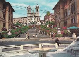 Italie, Roma, Piazza Di Spagna E Trinita Dei Monti - Places & Squares