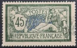 FRANCE 1907 - Canceled - YT 143 - 45c - 1900-27 Merson