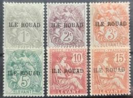ROUAD 1916/20 - MNH - YT 4, 5, 6, 7, 8, 9 - Rouad (1915-1921)