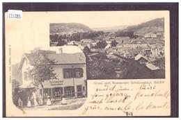 BADEN - RESTAURANT SCHÜTZENHAUS - TB - AG Aargau