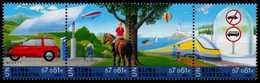 UNO WIEN Nr 346STR-349STR Postfrisch 4ER STR S004446 - Centre International De Vienne