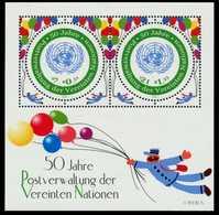 UNO WIEN Block 15 Postfrisch S0044DA - Centre International De Vienne