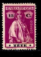 ! ! Tete - 1914 Ceres 15 C - Af. 35 - No Gum - Tete