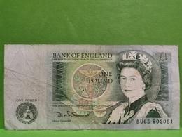 Billet, 1 One Pound. B - 1 Pound