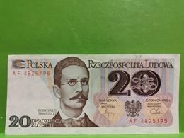 Polska, 20 Zlotych 1982 - Pologne