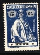 ! ! Tete - 1914 Ceres 5 C - Af. 31 - MH - Tete