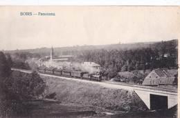 CPA : Boirs Beurs Près Bassenge (Belgique) Panorama Avec Le Train      Ed ??   Très Rare - Sonstige