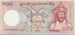 BHUTAN P. 33a 500 N 2006 AUNC - Bhoutan