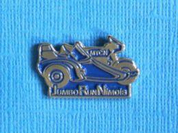 1 PIN'S //  ** JUMBO RUN NIMOIS / MTCN ** - Motorfietsen