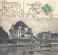 Brunnen - Postgebäude              1908 - SZ Schwyz