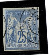 Lot 185 COLONIES GENERALES YT 36   INDE   PONDICHERY - France (ex-colonies & Protectorats)