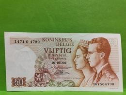 Belgique, 50 Francs Frank 1966. Tb état - Andere