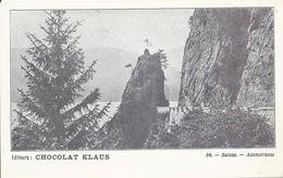 Axenstrasse - Chocolat Klaus             Ca. 1910 - SZ Schwyz