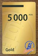BÉNIN LIBERCOM RECHARGE GSM 5.000 FCFA PHONECARD PRÉPAYÉE PREPAID PAS TELECARTE CARTE TÉLÉPHONIQUE PRÉPAYÉE - Bénin