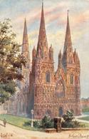R367805 Lichfield. English Cathedrals. Tuck. Oilette. 6498. Arthur C. Payne. 1907 - Cartes Postales