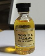Miniature Parfum Monsieur Balmain7.5 Ml - Miniatures De Parfum