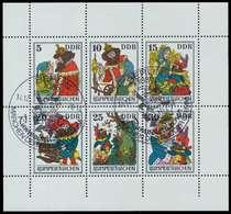 DDR BLOCK KLEINBOGEN Nr 2187-2192 URndgz KLEINB SBB0236 - Blocks & Kleinbögen