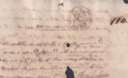 1863-PS-2 ESPAÑA SPAIN REVENUE SEALLED PAPER PAPEL SELLADO 1863 SELLO 6to. - Fiscales