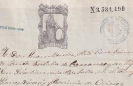 1874-PS-6 ESPAÑA SPAIN REVENUE SEALLED PAPER PAPEL SELLADO 1874 SELLO 11n + WAR TAX GREEN. - Fiscales