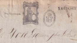 1874-PS-7 ESPAÑA SPAIN REVENUE SEALLED PAPER PAPEL SELLADO 1874 SELLO 11n + WAR TAX BLACK. - Fiscales