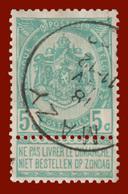 """COB N° 56 - Belle Oblitération """"MAZY"""" - 1893-1900 Schmaler Bart"""