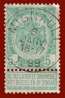 """COB N° 56 - Oblitération CONCOURS """"MIGNAULT"""" - 1893-1900 Schmaler Bart"""