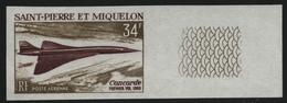 St. Pierre & Miquelon 1969 - Mi-Nr. 432 ** - MNH - Ungez. / Imp - Flugzeuge (II) - St.Pierre & Miquelon