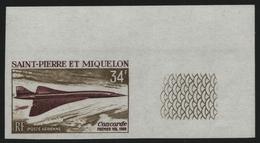 St. Pierre & Miquelon 1969 - Mi-Nr. 432 ** - MNH - Ungez. / Imp - Flugzeuge (I) - St.Pierre & Miquelon