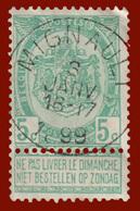 """TB COB N° 56 - Oblitération CONCOURS """"MIGNAULT"""" - 1893-1900 Schmaler Bart"""