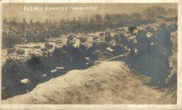 CARTE PHOTO BELGES DANS LES TRANCHEES Siège D'Anvers:Un Prêtre En ARMEE BELGE BELGIQUE BELGIUM 1914/15 WWI WWICOLLECTION - Antwerpen