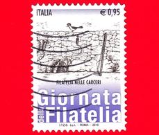 ITALIA - Usato - 2015 - Giornata Della Filatelia - Filatelia Nelle Carceri  - 0,95 - 6. 1946-.. Repubblica