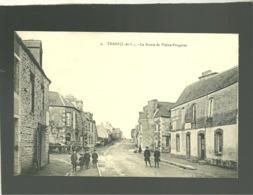 35 Trans La Route De Pleine Fougères édit. Sorel N° 2 Animée Rails Du Chemin De Fer Tramway - Altri Comuni