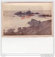 Au Plus Rapide Photo Cabinet XIX ème Siècle Photographer Baudoux And Son Guernsey Guernesey Phare - Photographs