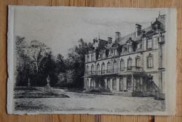 67 : Strasbourg - La Robertsau - Château Pourtalès - D'après Dessin à La Plume Ou Gravure - (n°17754) - Strasbourg