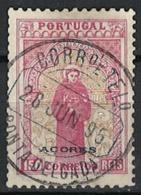 Acores / Azores 1895. Mi.Nr. 85, Used O - Azores