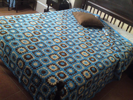 Blanket Handmade Manta Crochet Feita à Mão Lã Miltons Baby Anti Alérgica Fait Main Wool Laine Anti Allergique - Lana