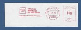 BRD AFS - MARCH BREISGAU, Rahmenlose Bildfassungen Und Bilderrahmen - SCHAFHEUTLE SCHACO ZWEIGLAS KG - Machine Stamps (ATM)