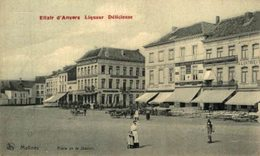 Elixir DÀnvers Liqueur Delicieuse. Place De La Station.  MECHELEN MALINES ANTWERPEN ANVERS - Malines