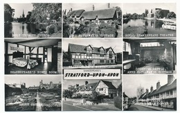 CPSM  9 X 14  Grande Bretagne Angleterre (22) STRATFORD-UPON-AVON  Church Cottage Theatre Shakespeare Room... - Stratford Upon Avon