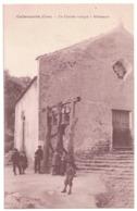 Calacuccia Un Clocher Rustique à Alibertaccé CPA 2B Haute-Corse - France