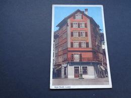 Suisse ( 384 )  Switserland  Svizzera  Sweiz  Zwitserland  :   Luzern  Hotel Ruckli - Suisse