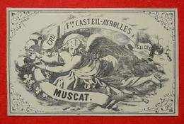 34 St Privat 1878 étiquette Muscat  Hameau Des Salces (Herault) Félicien Casteil-Ayrolles Pour Exposition Universelle - Languedoc-Roussillon