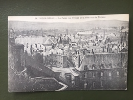 VIEUX-SEDAN- Le Palais Des Princes Et La Ville Vus Du Château. - Sedan
